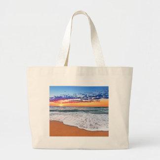 Miscellaneous - Ocean Beach Sunrise Five Large Tote Bag