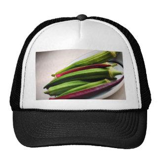 Miscellaneous - Okra Spotlight Pattern Trucker Hat