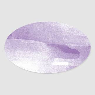 Miscellaneous - Painted Colors Patterns Nineteen Oval Sticker