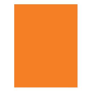 Miscellaneous - Princeton Orange Pattern Postcard