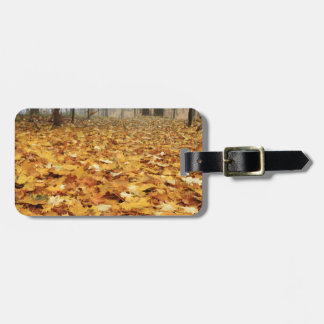 Miscellaneous - Red Autumn Patterns Fourteen Bag Tag
