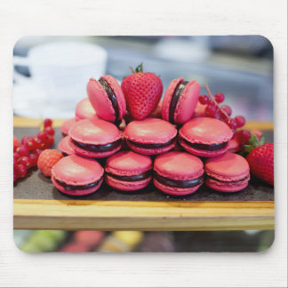 Miscellaneous - Red Eight Macaroons Mouse Pad