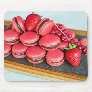 Miscellaneous - Red Nine Macaroons Mouse Pad