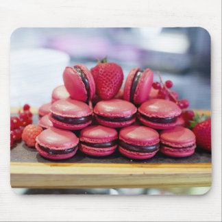 Miscellaneous - Red Ten Macaroons Mouse Pad