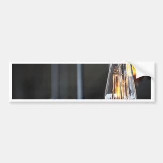 Miscellaneous - Retro Light Patterns Eight Bumper Sticker