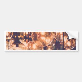 Miscellaneous - Retro Light Patterns One Bumper Sticker