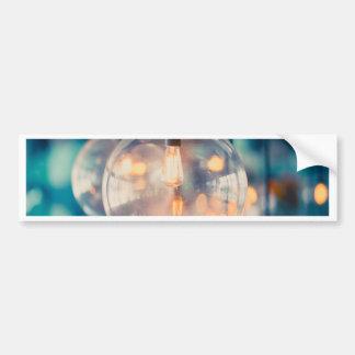 Miscellaneous - Retro Light Patterns Three Bumper Sticker