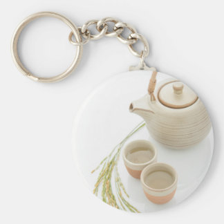 Miscellaneous - Rice Tea Patterns One Keychain
