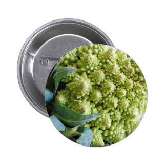 Miscellaneous - Romanesco Broccoli Pattern Pin Redondo 5 Cm