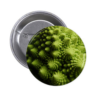 Miscellaneous - Romanesco Broccoli Spikes Pattern Pin Redondo 5 Cm