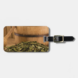 Miscellaneous - Sauna Objects Patterns Fourteen Bag Tag