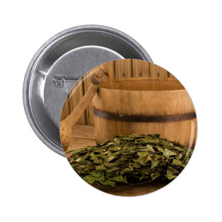 Miscellaneous - Sauna Objects Patterns Fourteen Button