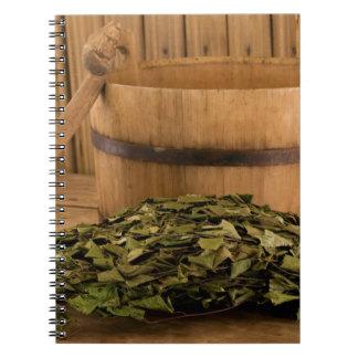 Miscellaneous - Sauna Objects Patterns Fourteen Notebook