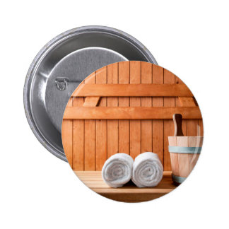 Miscellaneous - Sauna Objects Patterns Seven Button