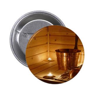 Miscellaneous - Sauna Objects Patterns Thirteen Button