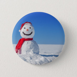 Miscellaneous - Snowman Patterns Three Pinback Button