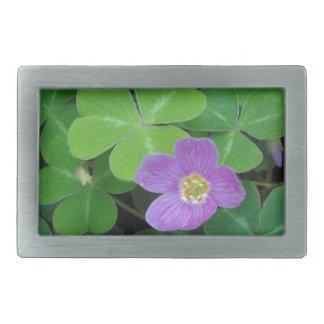 Miscellaneous - Sorrel & Purple Flower Pattern