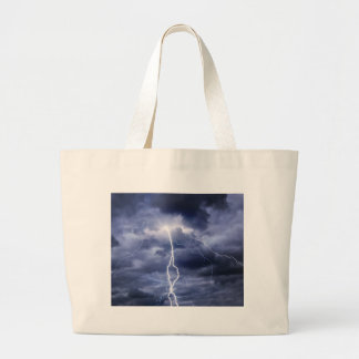 Miscellaneous - Storm & Thunder Furnace Large Tote Bag