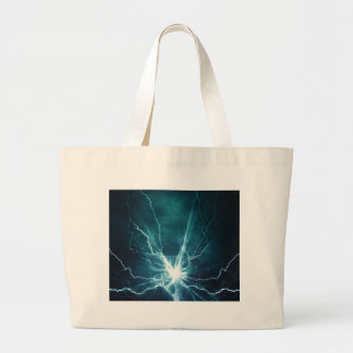 Miscellaneous - Storm & Thunder One Large Tote Bag