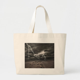 Miscellaneous - Storm & Thunder Seven Large Tote Bag