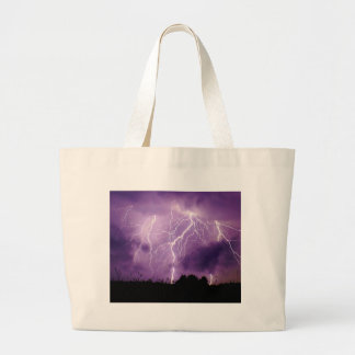 Miscellaneous - Storm & Thunder Three Large Tote Bag