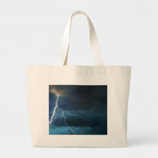Miscellaneous - Storm & Thunder Two Large Tote Bag