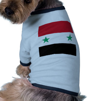 Miscellaneous - Syria Pattern Flag Pet T-shirt