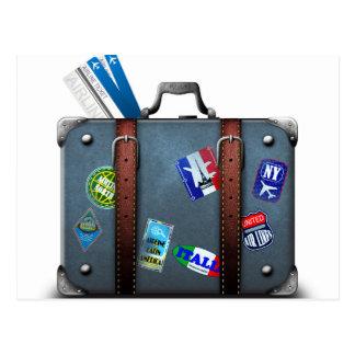 Miscellaneous - Traveler' S Suitcase Eight Postcard