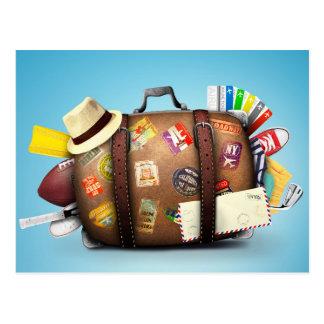 Miscellaneous - Traveler' S Suitcase Eleven Postcard