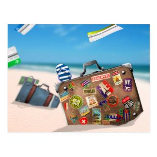 Miscellaneous - Traveler' S Suitcase One Postcard
