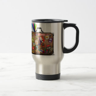 Miscellaneous - Traveler' S Suitcase Two Travel Mug