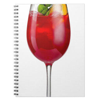 Miscellaneous - Tropical Cocktail Pattern Fourteen Notebook