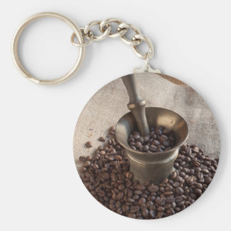 Miscellaneous - Vintage Coffee Grinder Eight Keychain