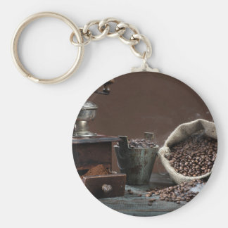 Miscellaneous - Vintage Coffee Grinder Five Keychain