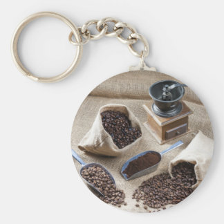 Miscellaneous - Vintage Coffee Grinder Three Keychain