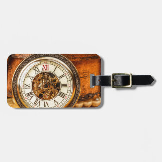Miscellaneous - Vintage Watch Patterns Fourteen Luggage Tag