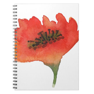 Miscellaneous - Watercolor Flowers Twenty-One Spiral Notebook