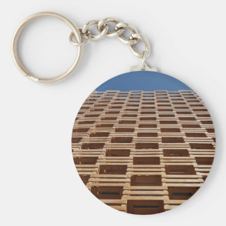 Miscellaneous - Wood Structures Patterns Four Keychain