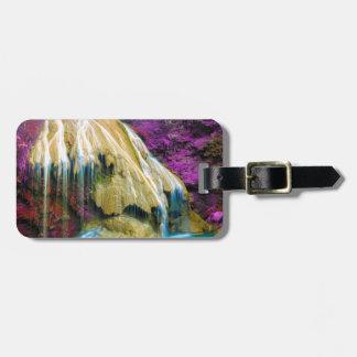 Miscellaneous - Zen Waterfall Patterns Fourteen Bag Tag