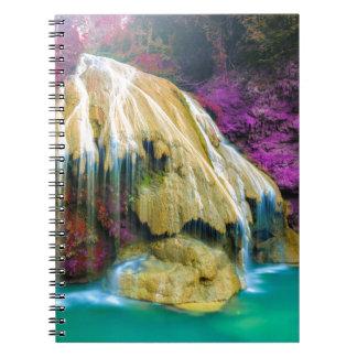 Miscellaneous - Zen Waterfall Patterns Fourteen Notebook