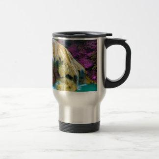 Miscellaneous - Zen Waterfall Patterns Fourteen Travel Mug
