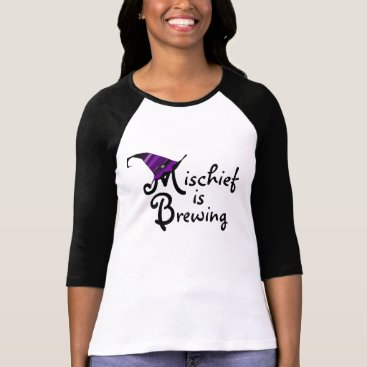 """think_out_loud """"Mischief is Brewing"""" Halloween T-Shirt"""