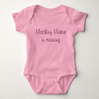 Mischief Maker one-sie Tshirts