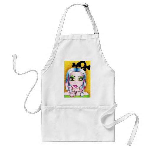 Mischief managed adult apron