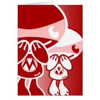 Mischief Mascot Greeting Cards