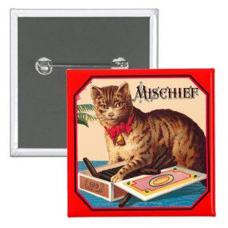 Mischief the Cat Pin