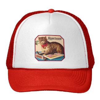 Mischief the Cat Trucker Hats