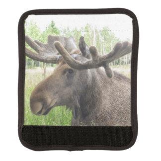 Mischievious Moose Luggage Handle Wrap