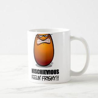 MISCHIEVIOUS - Orange Lg Coffee Mug