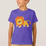 Mischievous Cute Cartoon Lion Children T-shirt